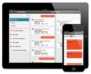 Dank HTML5 soll sich Vitamins mobileCRM einfach an die Erfordernisse des Anwenders anpassen lassen. (Quelle: M-Way Solutions)