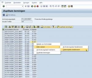Mit dem Tool PBS Archive Data Review lassen sich  Duplikate in SAP-Datenbanken aufspüren und beseitigen. Quelle: PBS Software