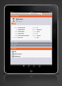 Die Funktionalität von update CRMpad reicht von der Verwaltung der Kundendaten über das Leadmanagement bis hin zum Aufgaben- und Auftragsmanagement. (Quelle: Update)
